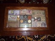 шкатулка для медалей